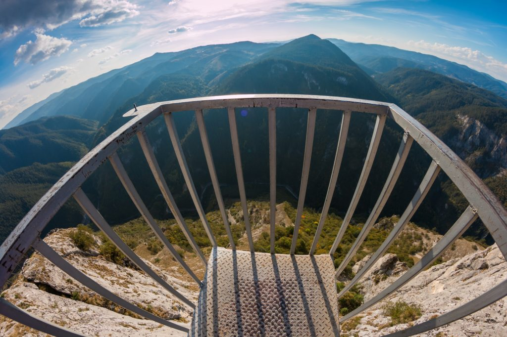 "Panoramic site ""Eagle Eye"" - Yagodina, Bulgaria"